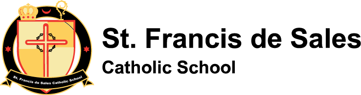 St. Francis de Sales Catholic School logo